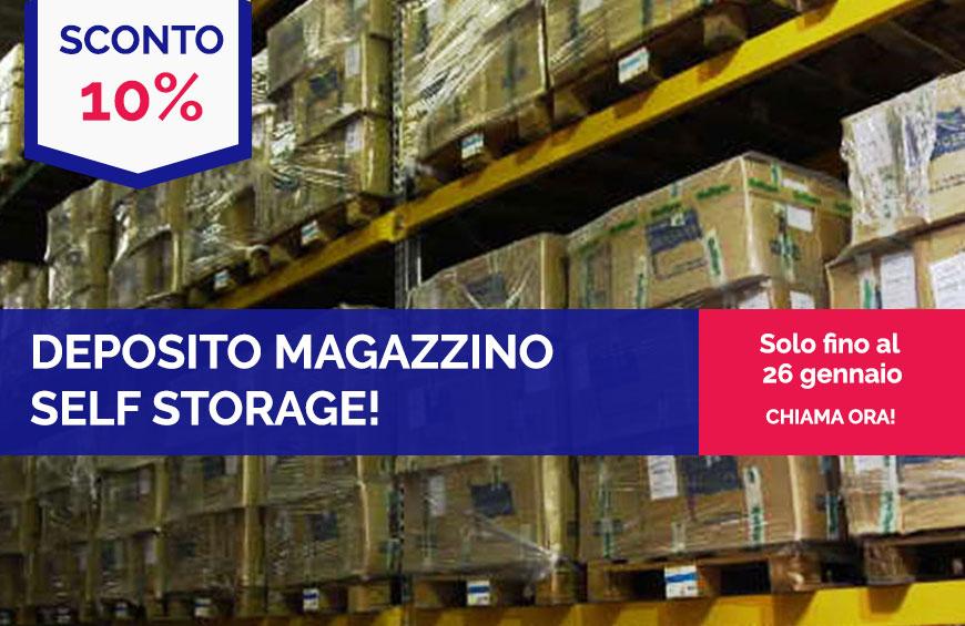 Self Storage Concorezzo, Brianza! 10% di sconto