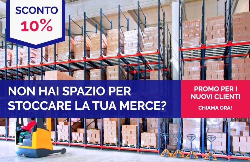 -10% per Stoccaggio Merci Monza e Brianza